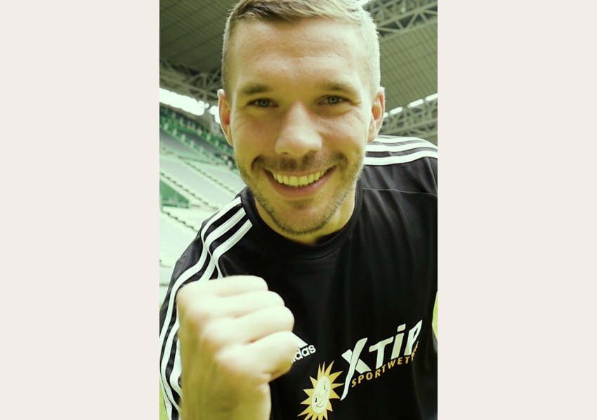 Podolski scheidet als Markenbotschafter aus